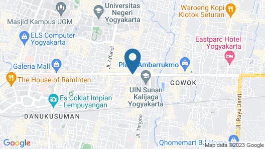 ibis Yogyakarta Adi Sucipto Map