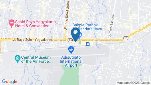 RedDoorz Plus near Adisucipto Airport 2 Map