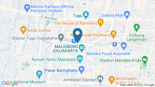 Hotel Neo Malioboro by ASTON Map