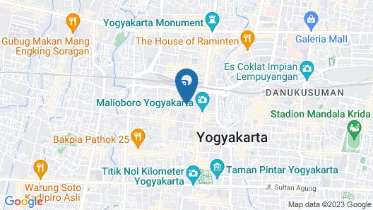 Grage Ramayana Hotel Map