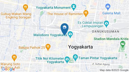 Grage Yogyakarta Hotel Map