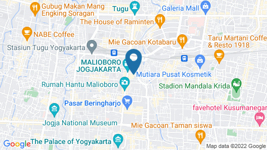 Novotel Suites Yogyakarta Malioboro Map