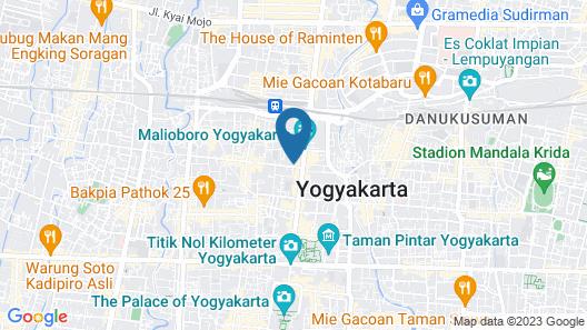 eL Hotel Royale Yogyakarta Malioboro Map