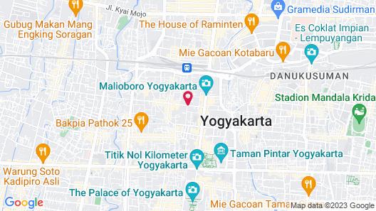 ibis Styles Yogyakarta Map