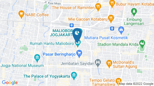 The Packer Lodge Yogyakarta - Hostel Map