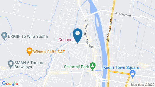 Coconut Hotel Map