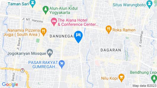 Gallery Prawirotaman Hotel Map