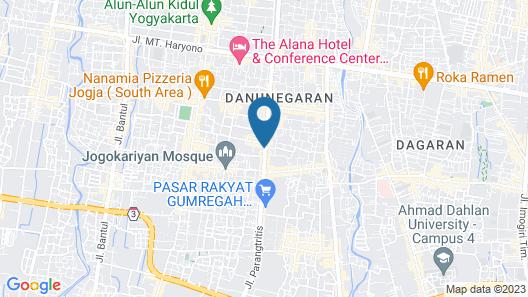 KJ HOTEL Map
