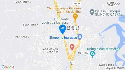 Pousada Braseiro Map