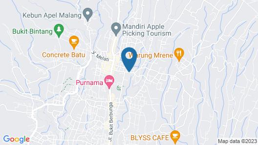 Villa Mulyono Map