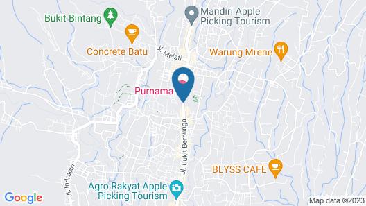 Purnama Hotel Map