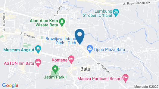 OYO 2060 Adam's Apple Family Guest House Map