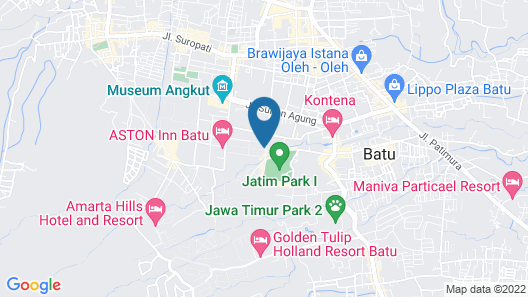 Villa Lovender Klub Bunga A14 Map