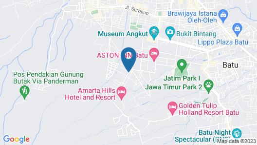 Villa Batu 2 Kamar No.7 dekat Museum Angkut Map