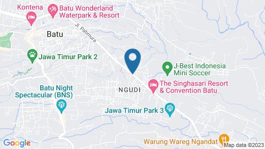 OYO 421 Alianda Guest House Syariah Map