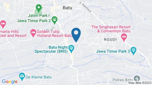 Mutiara Panderman Inn Syariah Map