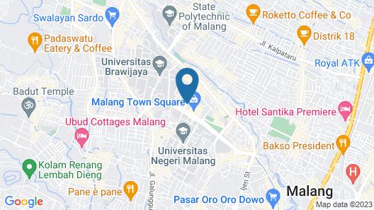 Swiss-Belinn Malang Map
