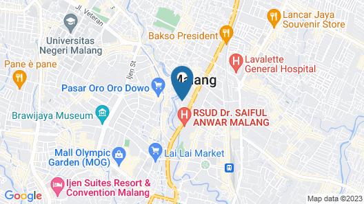OYO 1036 Hotel Palem 1 Map