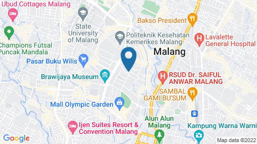 The Shalimar Boutique Hotel Map
