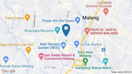 Semeru Hostel Malang - Adults Only Map