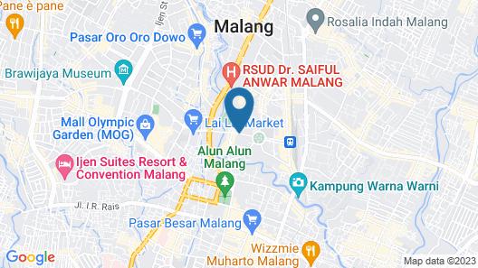 Sahid Montana Malang Map