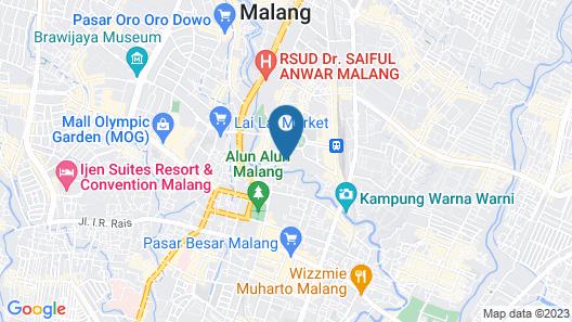 So Boutique Hostel Map