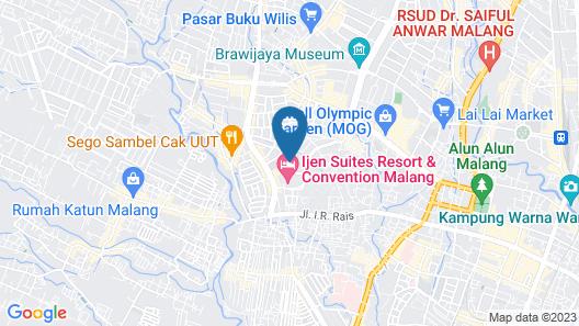 OYO 1110 Ijen Butik House Map