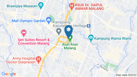 Riche Heritage Hotel Map