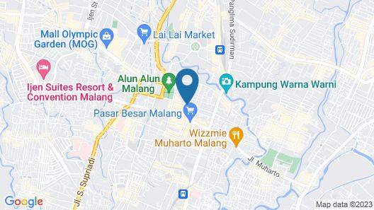 Hotel Santosa Map