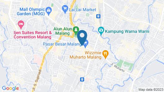Alimar Hotel Map
