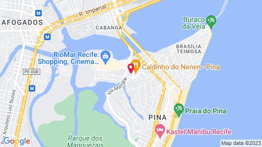 Hotel Luzeiros Recife Map