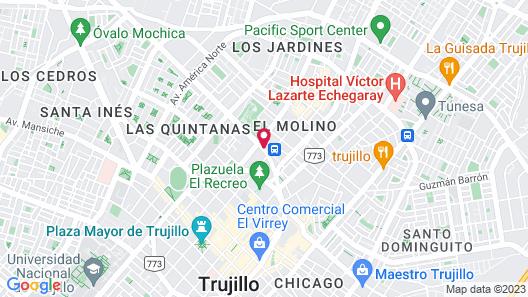 Hotel Libertad Map