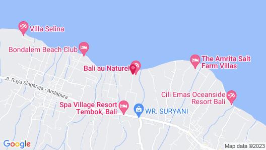 Bali au Naturel - Adults Only Map