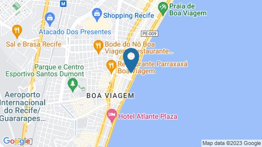 Aquamar Praia Hotel Map