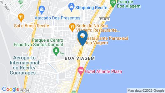Bugan Recife Hotel by Atlantica Map