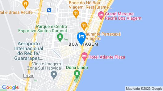 Ramada Recife Boa Viagem Map