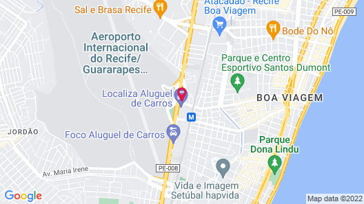 ibis Recife Aeroporto Map