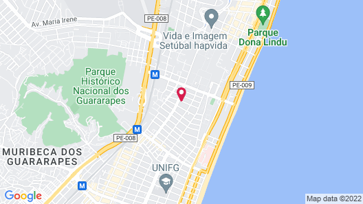 Hostel Vila Sol Map