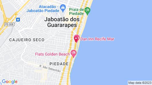 Dan Inn Recife Mar Map