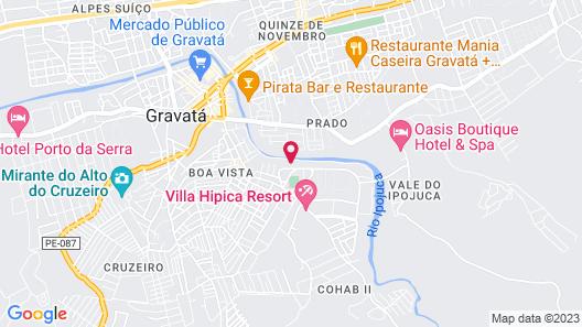 Hotel Canarius de Gravatá Map