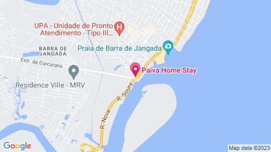 Tryp Pernambuco Map