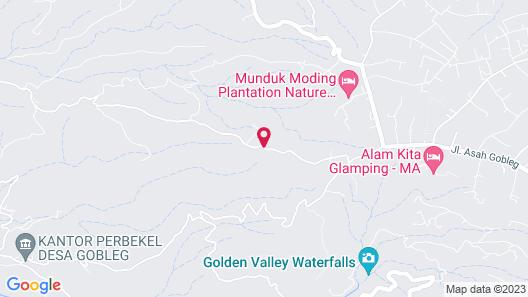 Munduk Moding Plantation Map