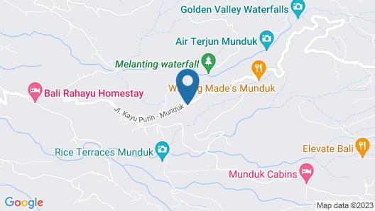 Puri Lumbung Cottages, Restaurant & Spa Map
