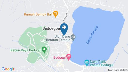 Puri Candikuning Map
