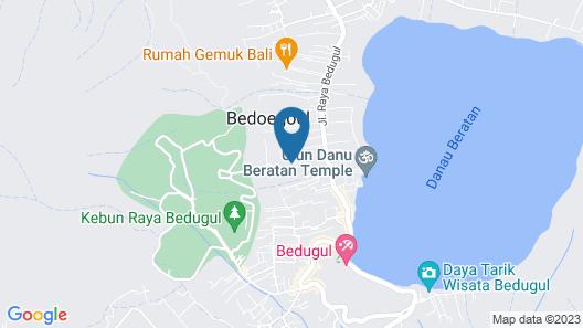 ECOcamp Bedugul Map