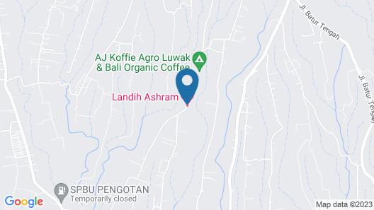Landih Ashram Map