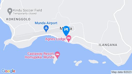Qua Roviana Motel Map