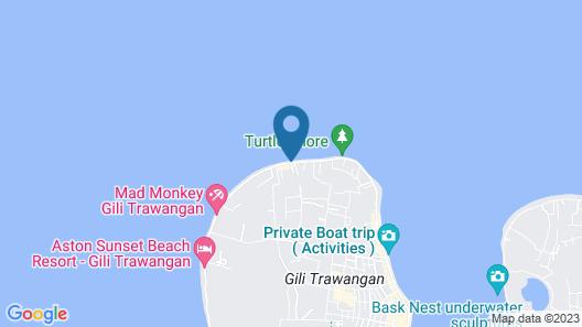 Wilson's Retreat Map