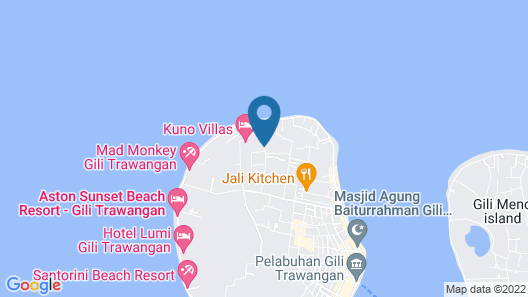 Coco Cabana Map