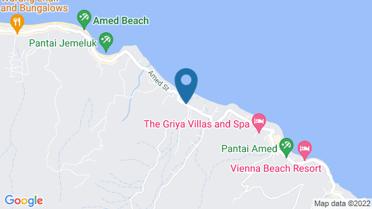 Villa Taman Padi Map